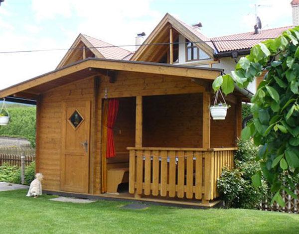 Geräte- Gartenhaus