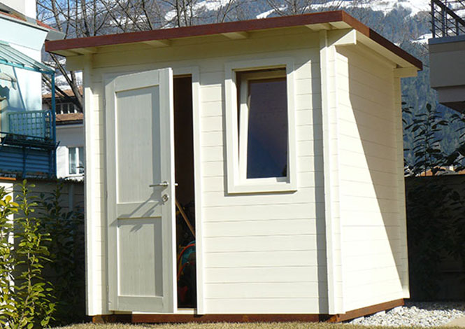 Geräte  Gartenhaus – Blockhaus Mayr Schabs/ Südtirol