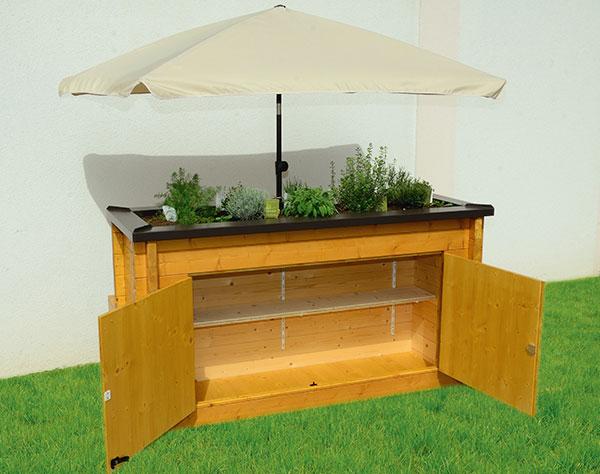 hochbeet mit sitzbank blockhaus mayr schabs s dtirol. Black Bedroom Furniture Sets. Home Design Ideas